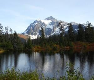 Scenery: Mt. Baker (Washington)
