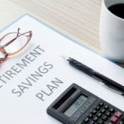 Photo of a savings plan.