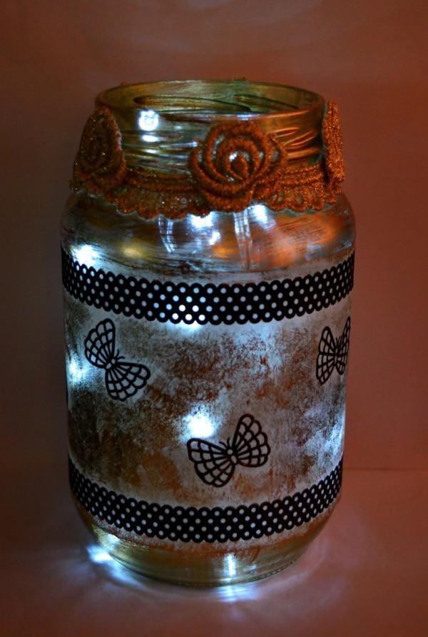 Silhouette Jar Storm Lantern Thriftyfun