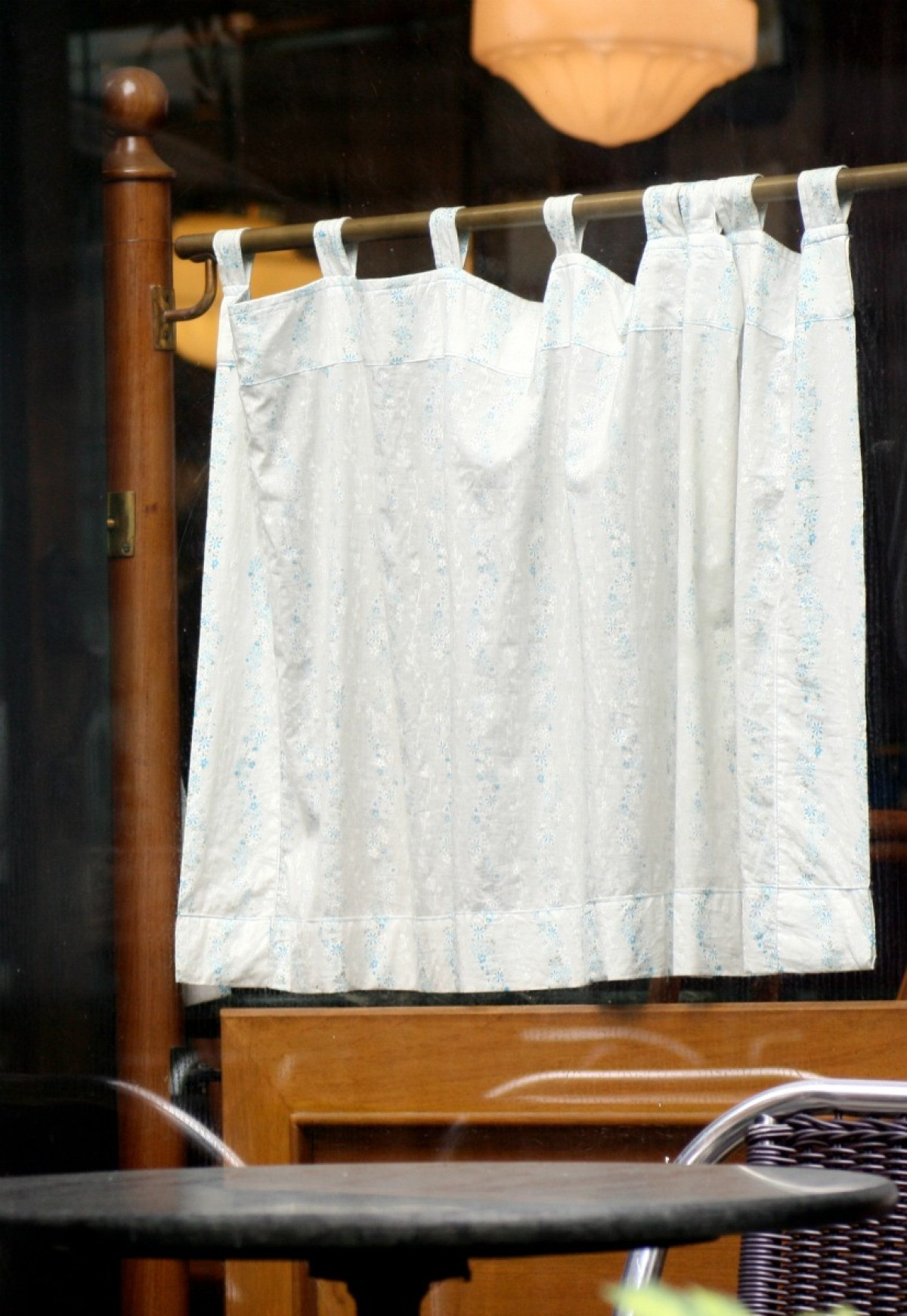 How To Make Cafe Curtains Thriftyfun