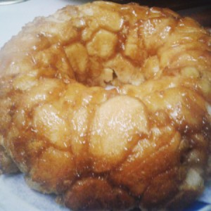 Banana Bundt Bread finished