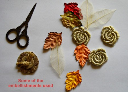 Colors of Fall Mini Canvas - supplies