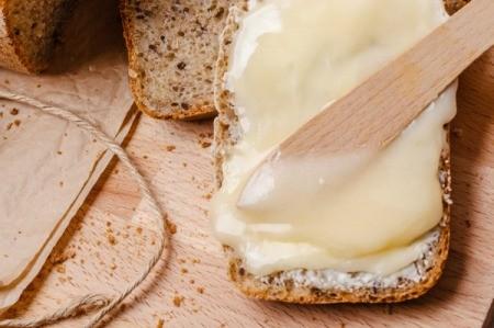 Honey Butter Spread on Bread