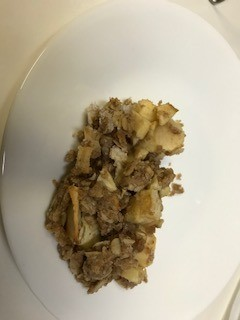 Apple Oatmeal Bar on plate