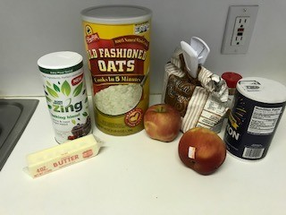 Apple Oatmeal Bars ingredients