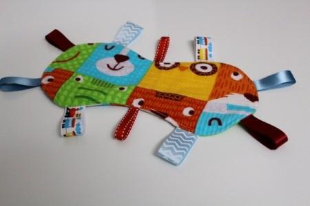 Baby Tag Blankets - bug shape