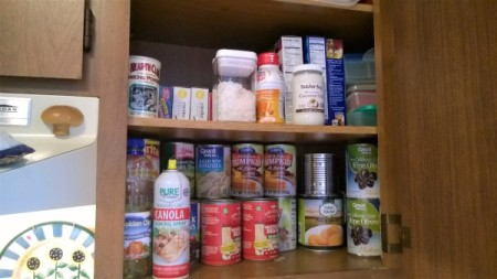 Plastic Food Containers to the Rescue! - baking goods and canned food