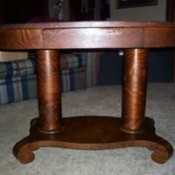 Value of Mersman Bro. Brandt's  - Library Table   - heavy table