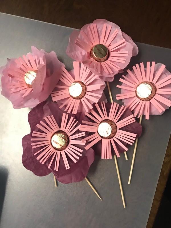 Candy Flower Bouquet | ThriftyFun