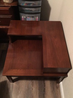 Information and Value of a Brandt Table - corner table