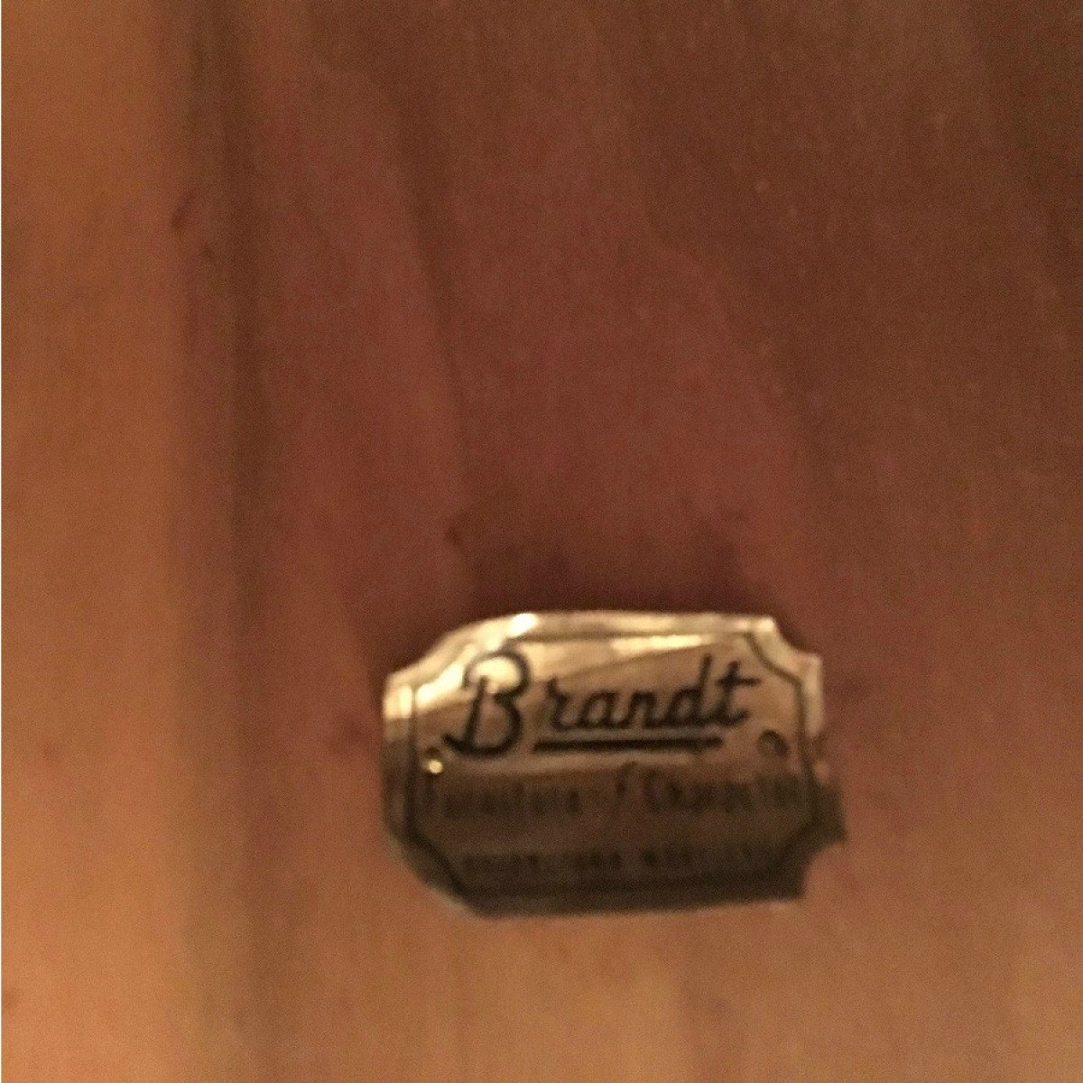 Finding The Value Of A Brandt Table