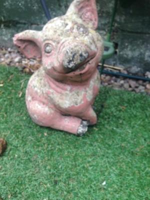 Value of Garden Pig Sculpture