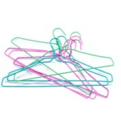 Colorful Wire Hangers