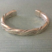 Information on Old Mexican Silver Bracelet