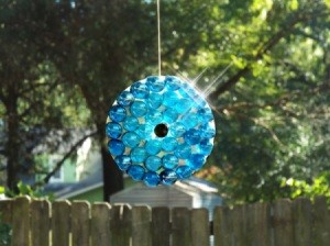 The Changing Of The Seasons - glass suncatcher