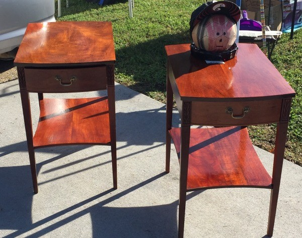 Value Of Mersman Side Tables Thriftyfun