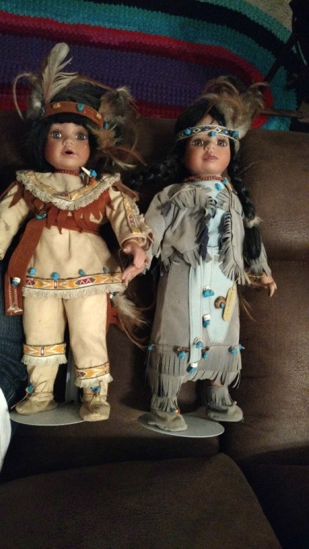 Value of Wimbledon Collection Indian Dolls