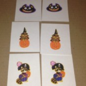 Halloween Memory and Number Matching Cards - cards for memory game