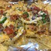 Toaster Oven Chicken Nachos