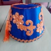 DIY Turkish Fez - fully decorated fez