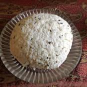Homemade Cumin Spiced Cheese on plate