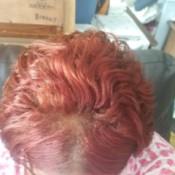 Toning Down Red Hair Dye