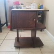 Value of a Thrift Store Humidor  - brown wood humidor