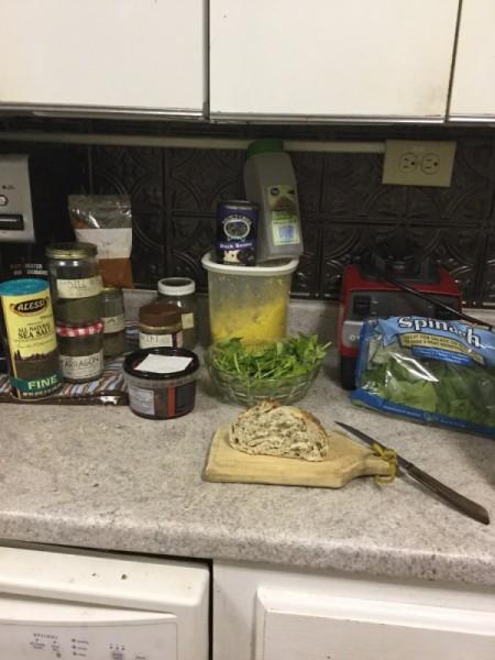 Rice Bean Burgers ingredients