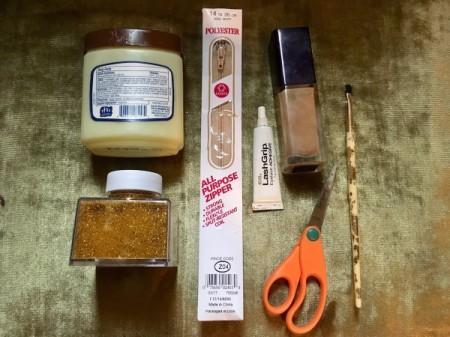 Golden Girl Beneath My Skin Costume - supplies