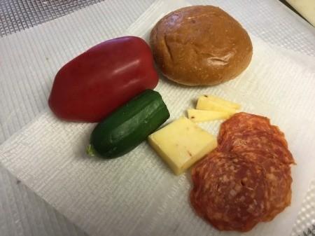 Monster Sandwich ingredients