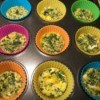 Muffin Tin Asparagus Frittatas in cups