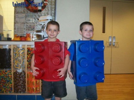 Lego Brick Halloween Costumes