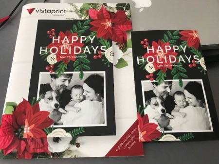 Repurpose Free Sample Holiday - Cards - trim off excess border