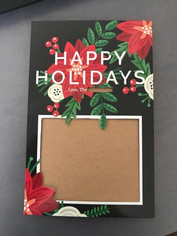 Repurpose Free Sample Holiday Cards   ThriftyFun