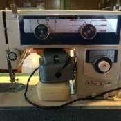 1970 Dressmaker Sewing Machine Seized Up - vintage sewing machine