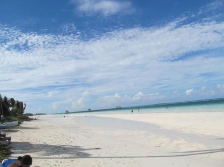 A beautiful beach at Varedero, Cuba