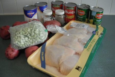 Vegetable Chicken Soup ingredients
