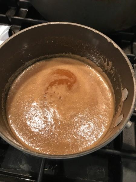 Pecan Sticky Bun glaze