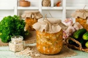 Canned Soup in a Jar