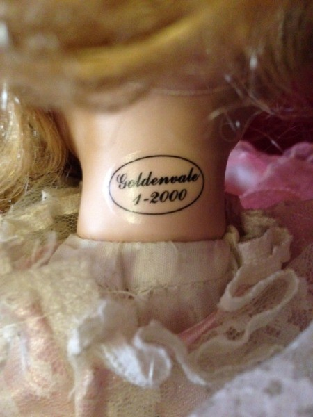 Identifying a Goldenvale Porcelain Doll