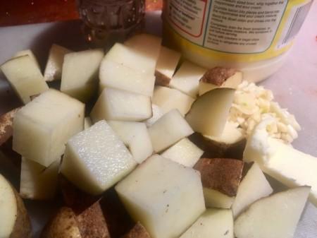 Creamy Garlic Mashed Potatoes ingredients