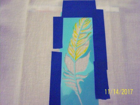 Stenciled Tea Towels or Bags - use fabric pens to fill in template design