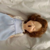 Identifying a Porcelain Doll - yawning doll