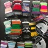 Buy Grab Bags to Save Money on Craft Supplies - closeup of ribbons and cording