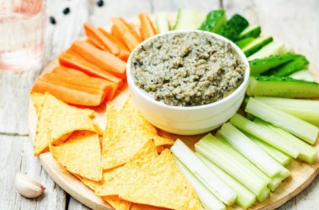 Chickpea and Black Bean Hummus