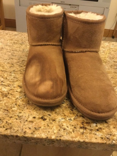 2619b3ec2e0 Fixing Faded UGG Boots | ThriftyFun