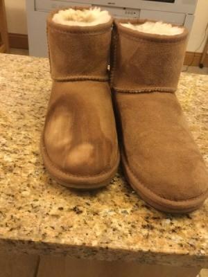 Repairiing Nail Polish Marks on Ugg Boots