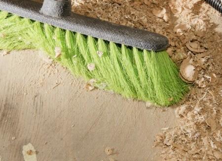 Broom and Sawdust