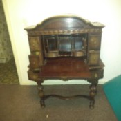 Identifying a Piece of Antique or Vintage Furniture - drop front cabinet