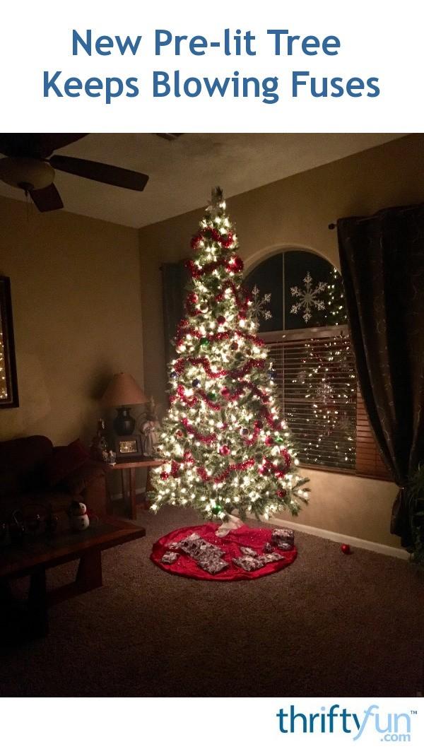 Fix Pre Lit Christmas Tree Lights